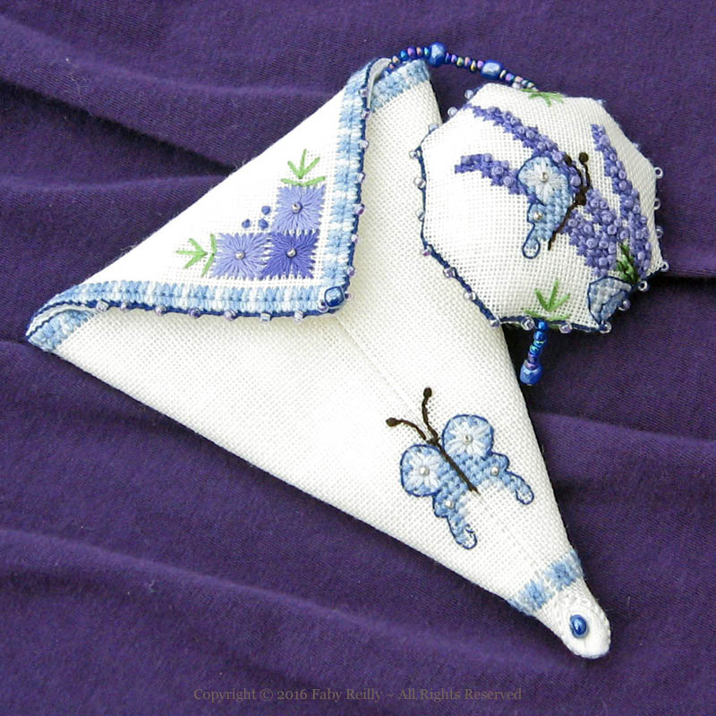 Lavender Scissor Case – Faby Reilly Designs