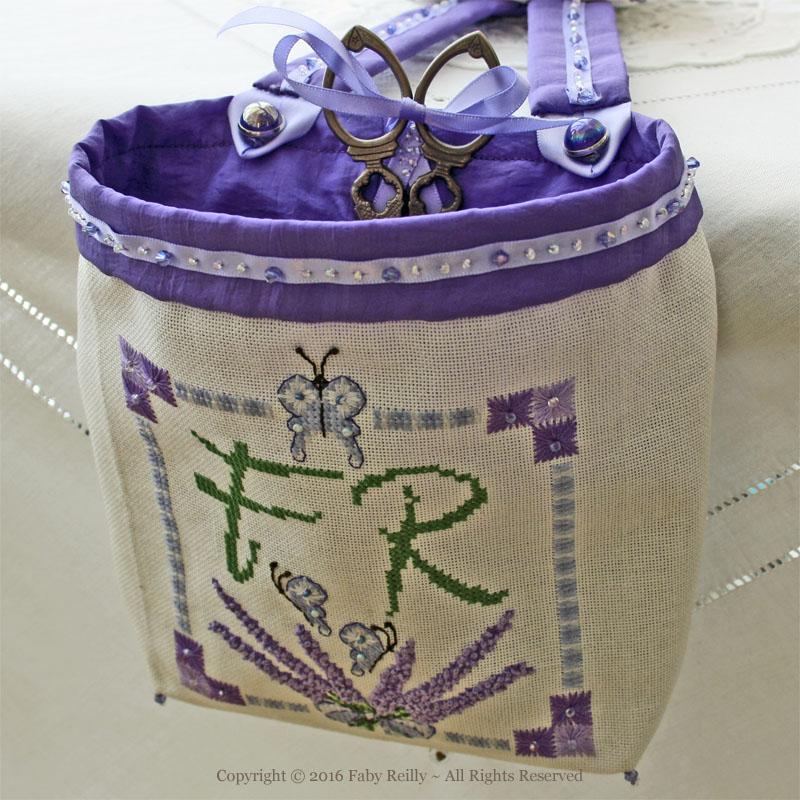Lavender Thread Catcher