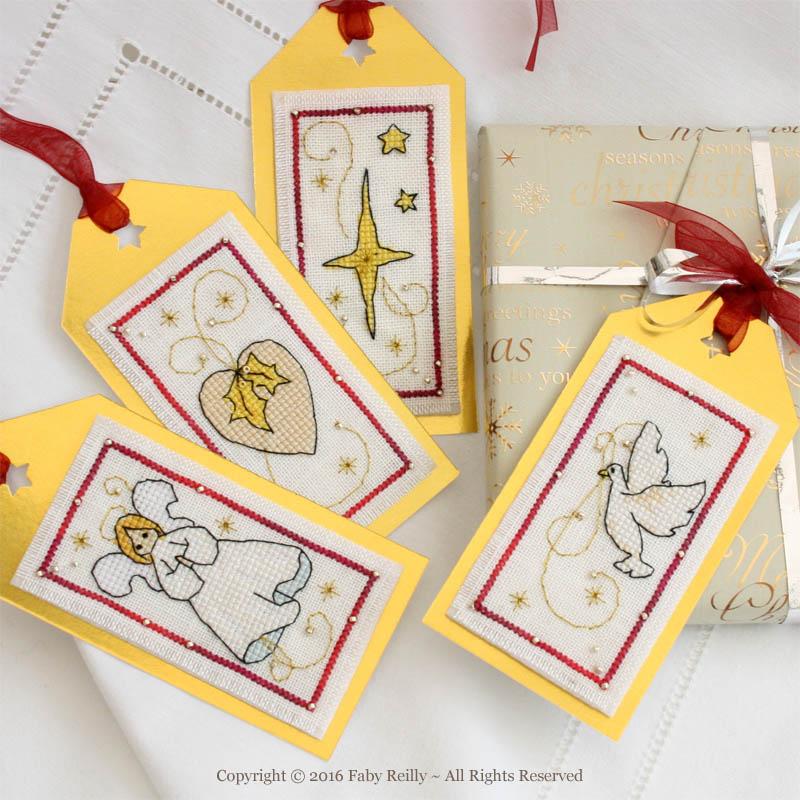 Christmas Tags (White Series)