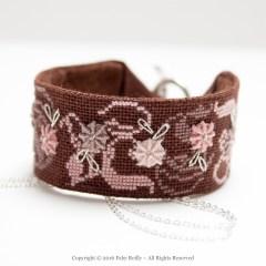 Rose-Chocolat Stitched Jewellery