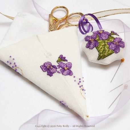 Violet Scissor Case