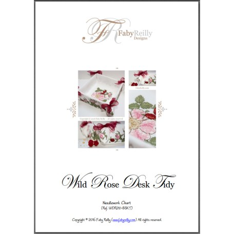 Wild Rose Desk Tidy