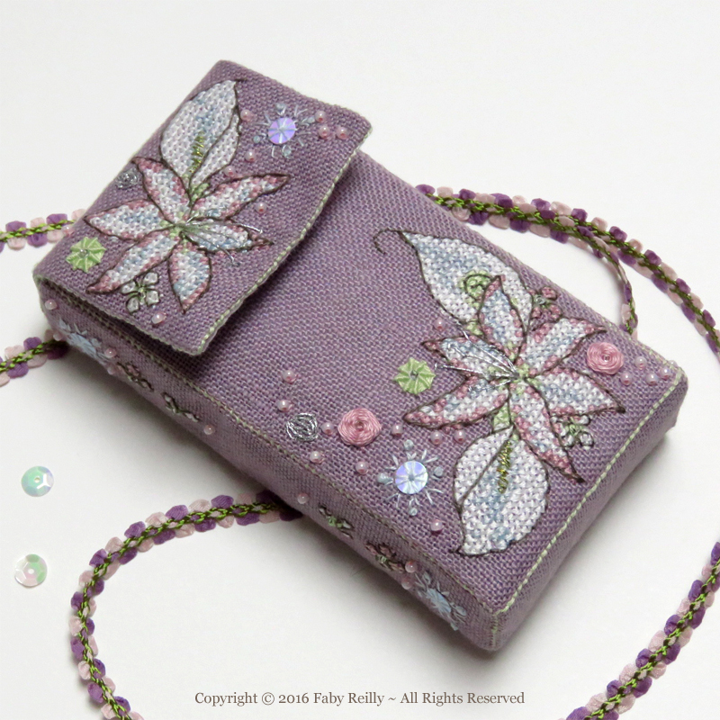 Wintry Blooms Tissue Case - Faby Reilly Designs