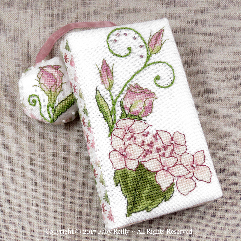 Lizzie Stitching Wallet - Faby Reilly Designs