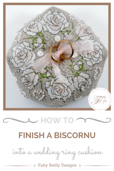 Biscornu Tutorial - Faby Reilly Designs