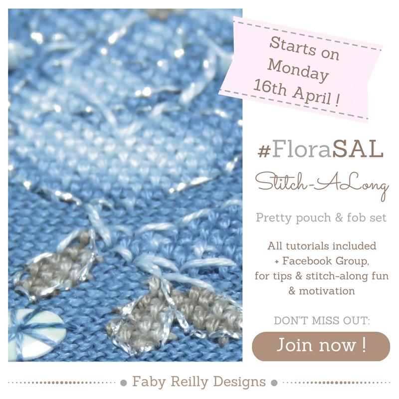Flora SAL - Faby Reilly Designs