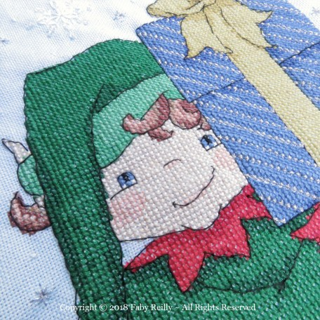 Elf Stocking – Faby Reilly Designs