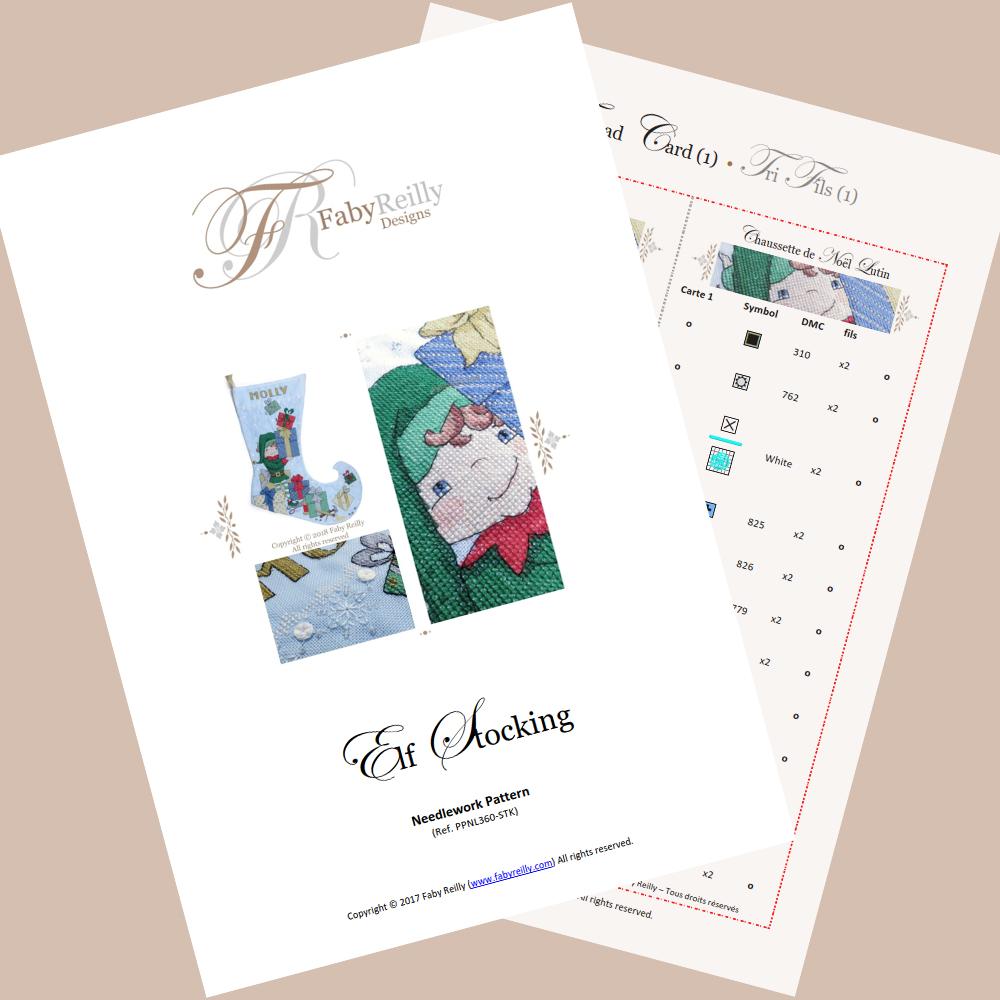 Elf Stocking – Faby Reilly Designs