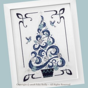 O Tannenbaum in Blue - Faby Reilly Designs