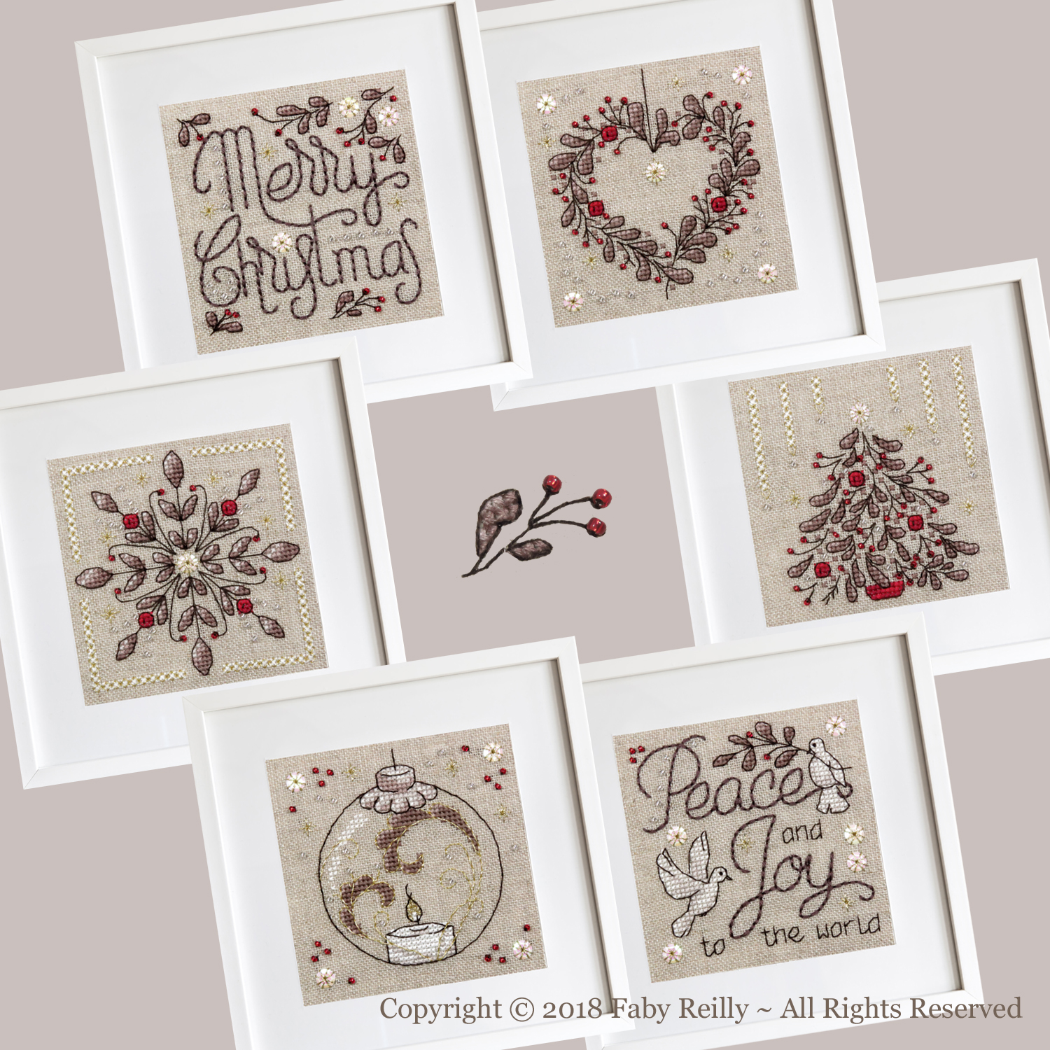 Christie Frames (set of 6)