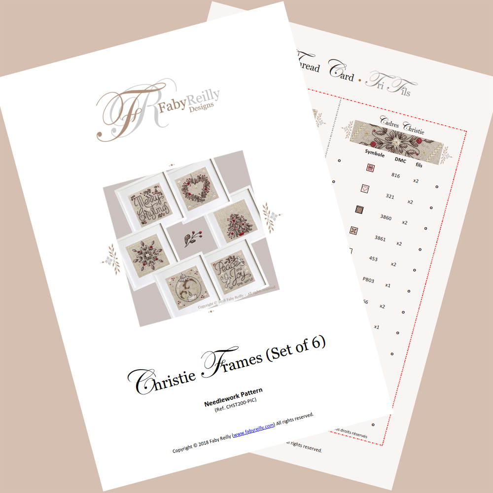 Christie Cards (set of 6) – Faby Reilly Designs