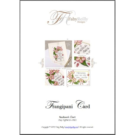 Frangipani Card – Faby Reilly Designs