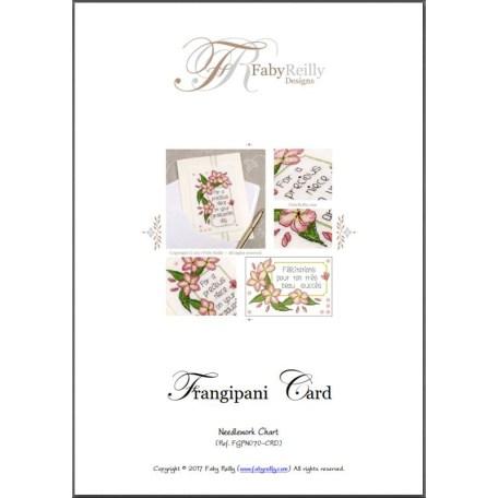 Frangipani Card – Faby Reilly Designs