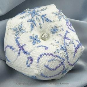 Snowflake Biscornu - Faby Reilly Designs