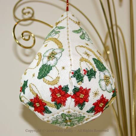 Sparkly Christmas Pendeloque – Faby Reilly Designs