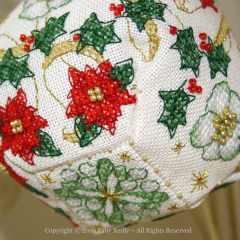 Pendeloque Noël Étoilé - Faby Reilly Designs