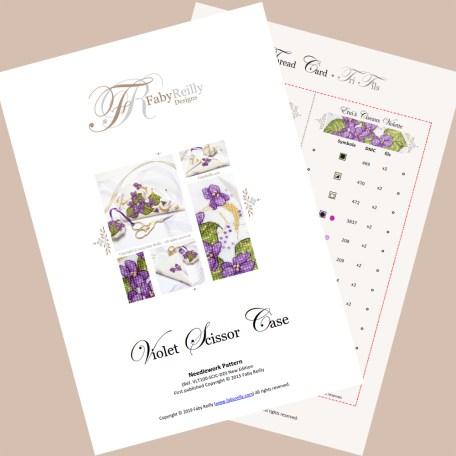 Violet Scissor Case – Faby Reilly Designs