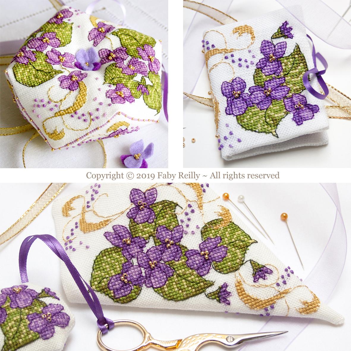 buy online 77cef 0c579 Violet Stitching Set - Faby Reilly Designs