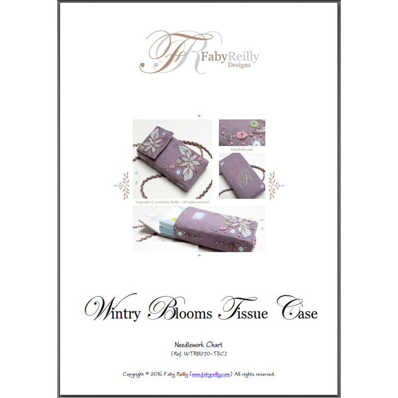 Wintry Blooms Tissue Case – Faby Reilly Designs