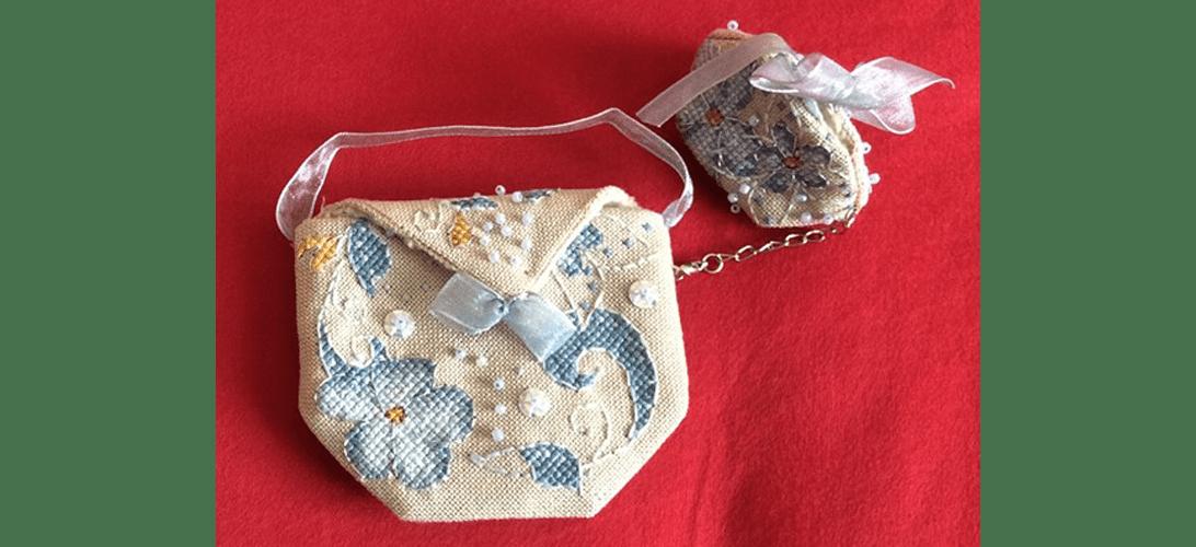Flora Pouch - stitched by Bernadette