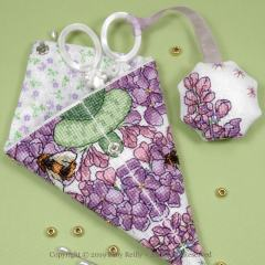 Lilac Scissor Case - Faby Reilly Designs