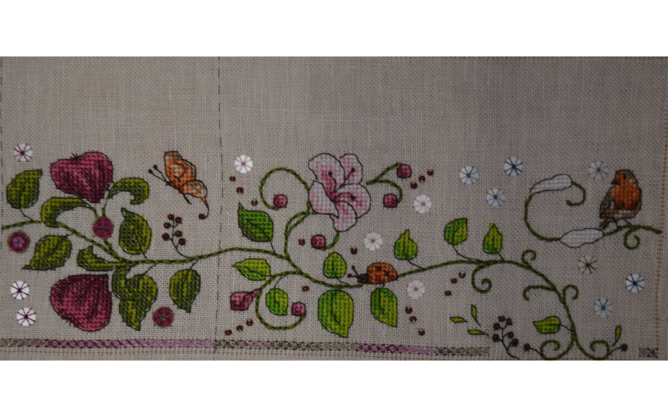 stitched by Margaret