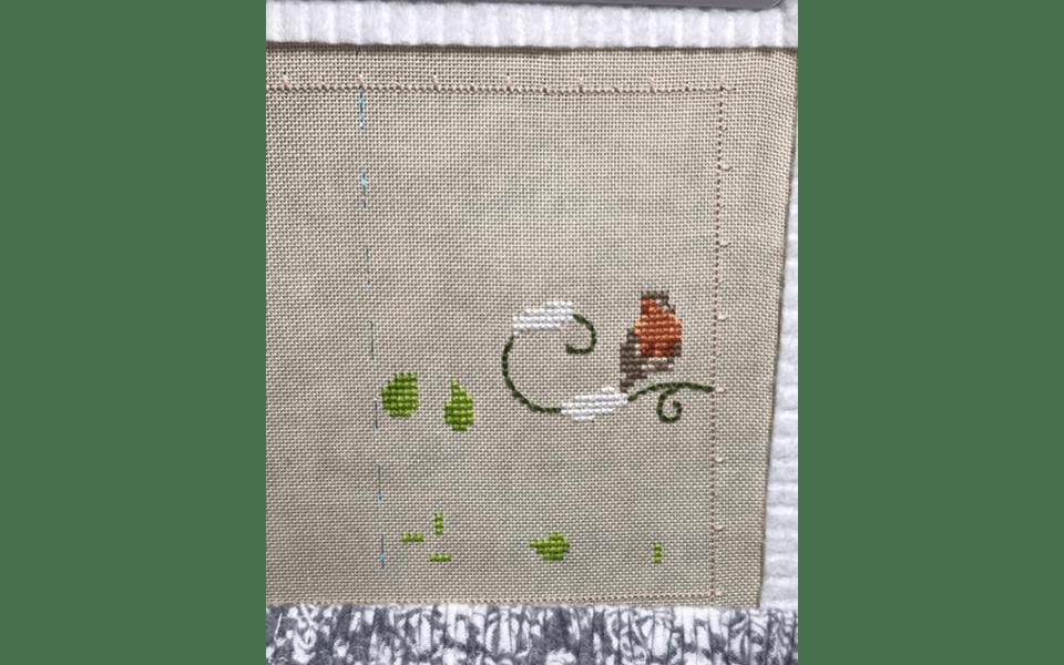 stitched by Karen