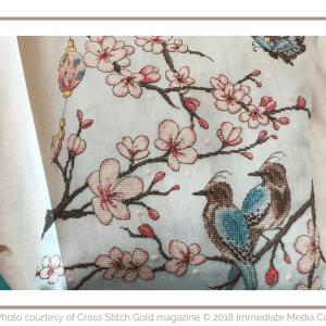 Coussin Cerisier du Japon