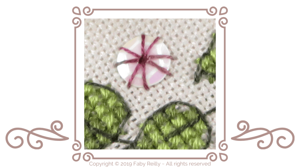 Round Eyelet - Tutorial Header - Faby Reilly Designs