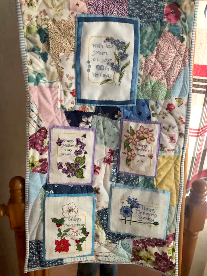 Cards by Faby Reilly Designs stitched by Andrea A