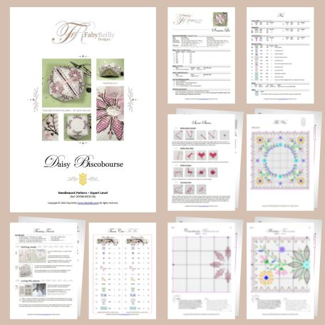 Daisy BiscoBourse Sample Pages – Faby Reilly Designs