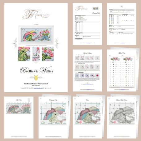 Brollies & Wellies Sample Pages – Faby Reilly Designs