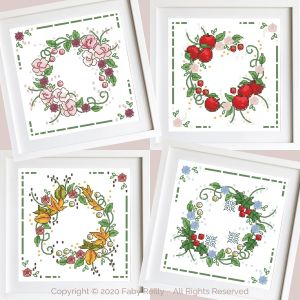 Seasonal Wreaths 01 - Faby Reilly Designs