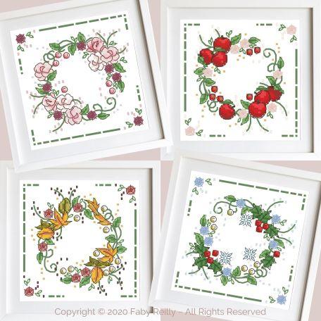 Seasonal Wreaths 01 - Faby Reilly Designs