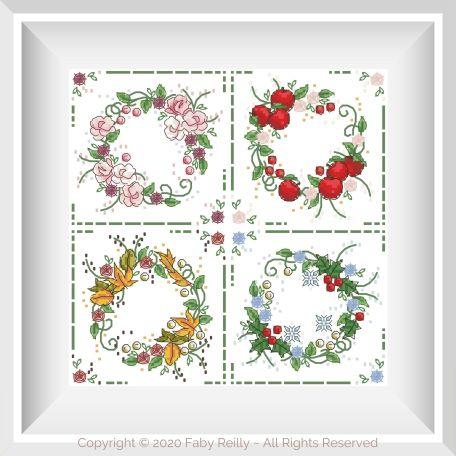 Seasonal Wreaths 02 – Faby Reilly Designs