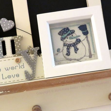 Navy and Mint Mini Frame 08 – Faby Reilly Designs