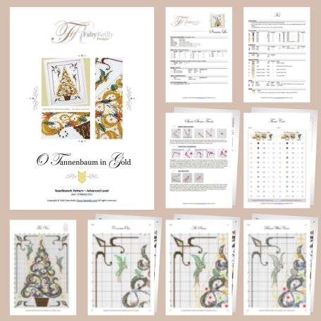 O Tannenbaum in Gold 04 – Faby Reilly Designs