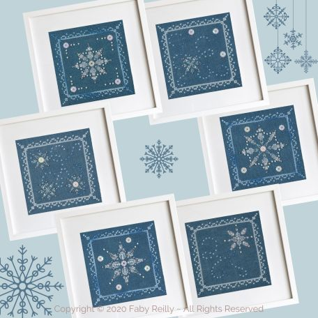 Let it Snow Mini Frames FRD 10
