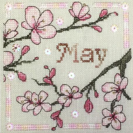 Anthea Calendar – May – Faby Reilly Designs