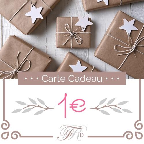 Carte Cadeau - 1€