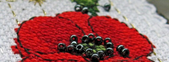 Poppy Bookmark