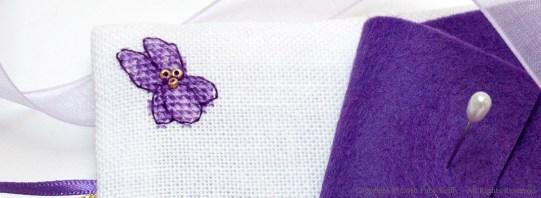 Violet Needlebook
