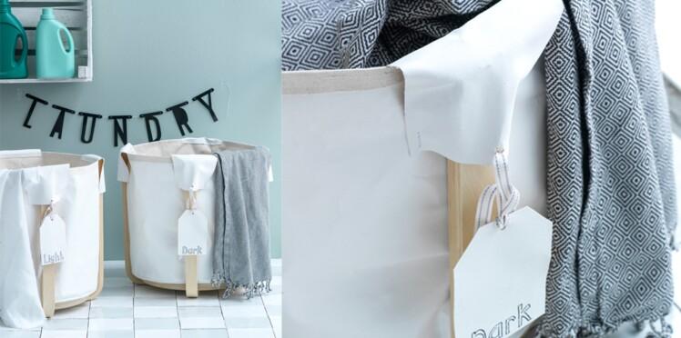 Réaliser Des Bacs à Linge Avec Un Tabouret Ikea Femme