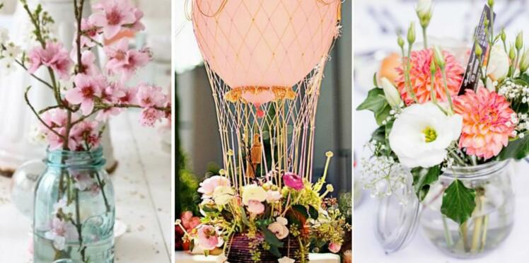 50 idees pour un centre de table de mariage reperees sur pinterest