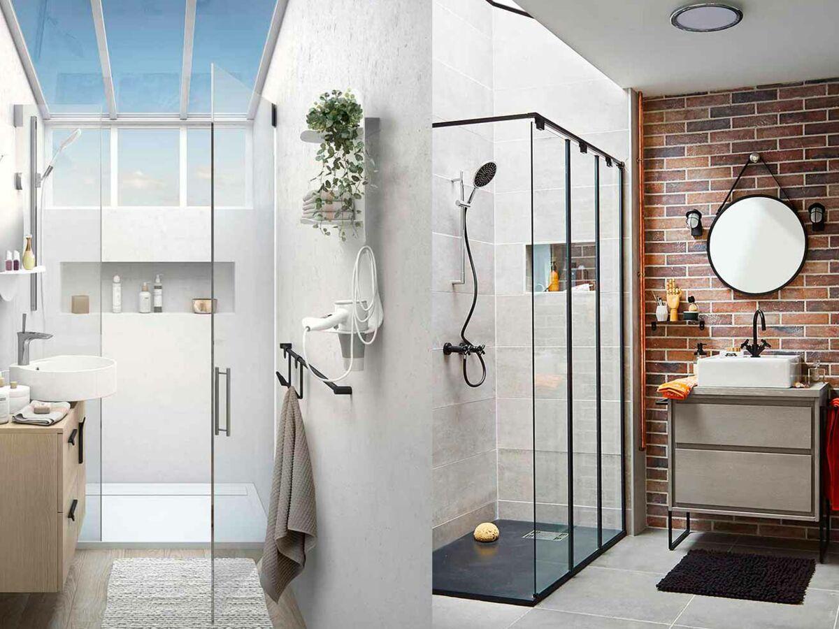 Comment Amenager Une Douche Dans Une Petite Salle De Bains Femme Actuelle Le Mag
