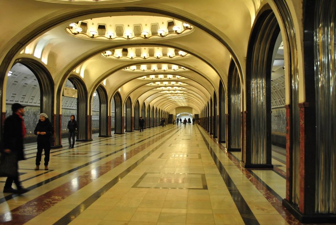 Metropolitana di Mosca.