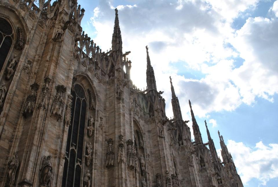 Guglie del Duomo di Milano.