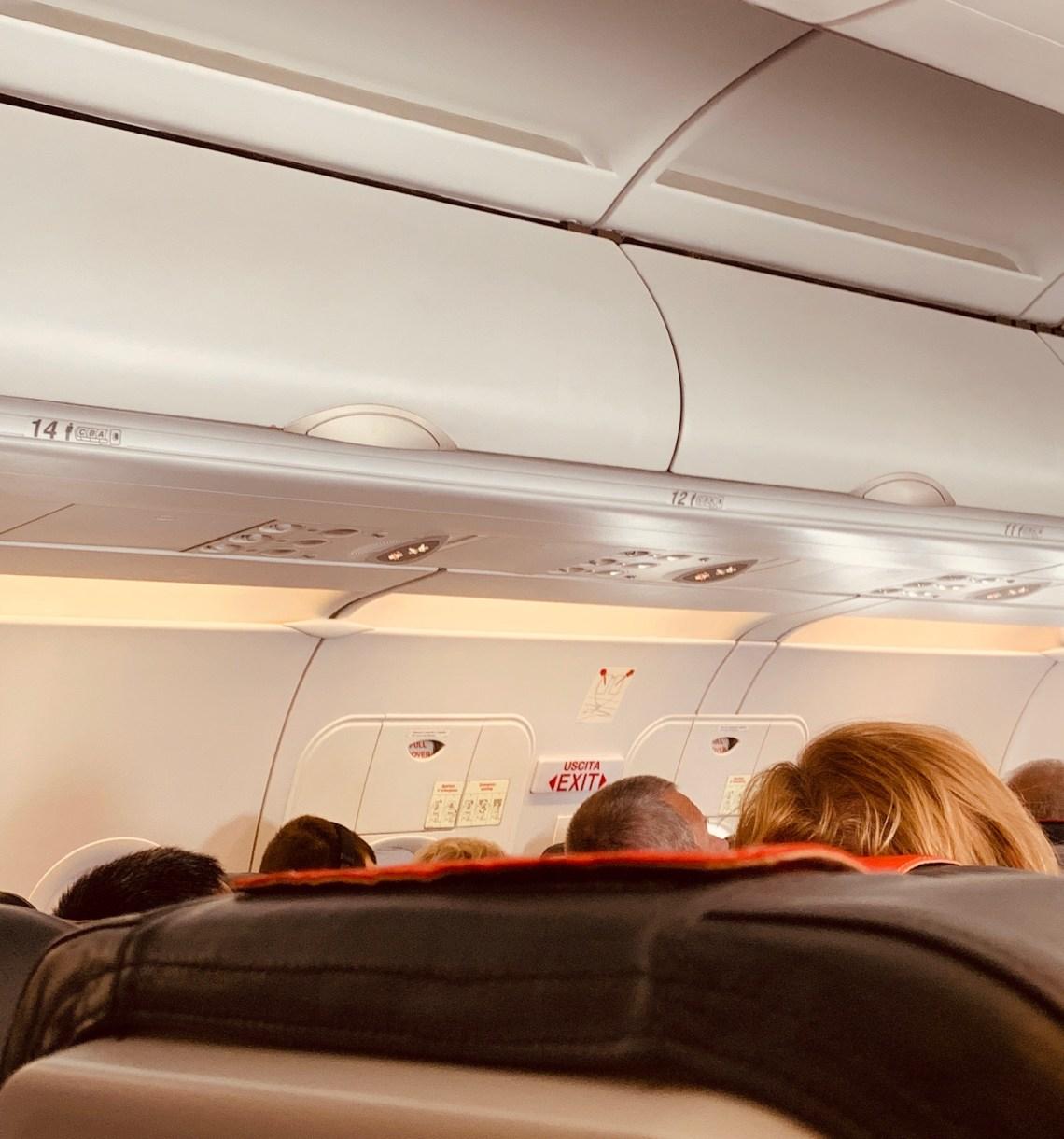 Volo Alitalia senza nr 13 e 17