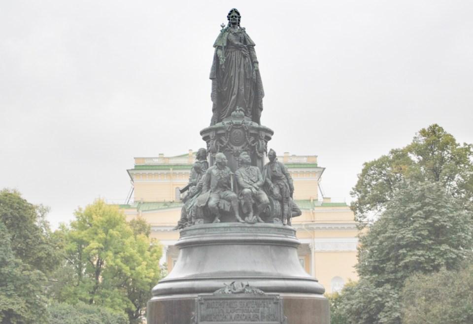 Statua di Caterina II, detta la grande.