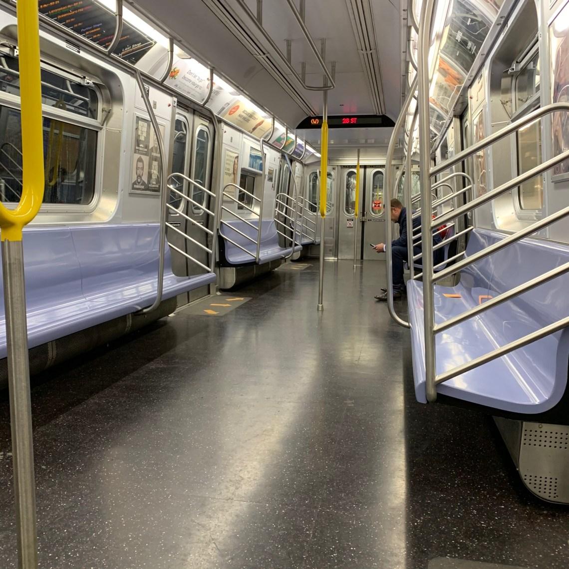 Vagone della metropolitana.